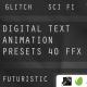 Digital Text Animator Presets