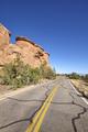 Scenic road in the Colorado National Monument, Colorado, USA