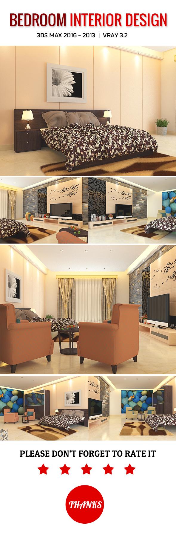 3DOcean Bedroom Interior Design 19844520