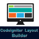 Codeigniter Drag & Drop WYSIWYG Layout Builder
