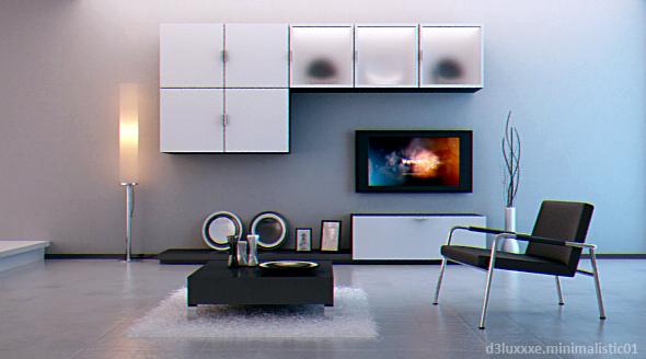 3DOcean Interior Minimalistic.01 75036