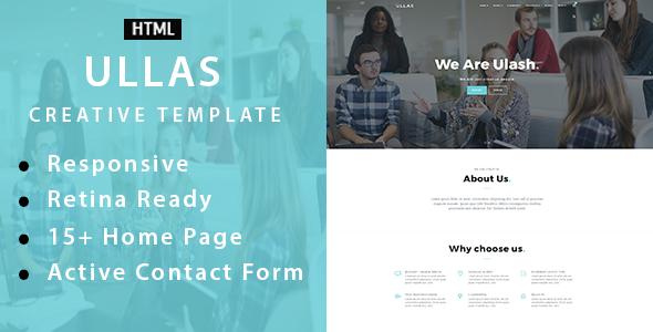 Ullas – Creative Multi-Purpose HTML Template (Creative) images