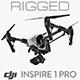 DJI Inspire - Element 3D