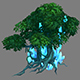 Game Model Arena - grass flowers trees 01 01
