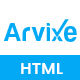 Arvixe-One Page Corporate Html Template