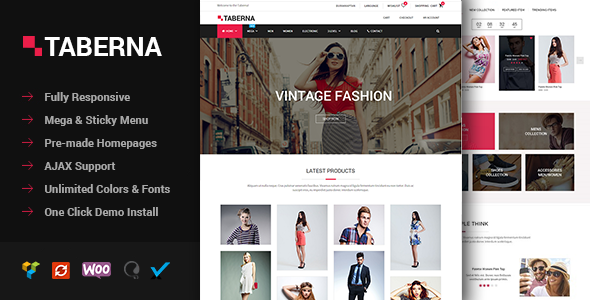 Taberna - Fashion & Electronic WooCommerce Theme