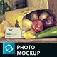 Organic Food Photo Mockups / Vegetables Vol.2