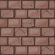 Cartoon Brown Stone Wall Texture