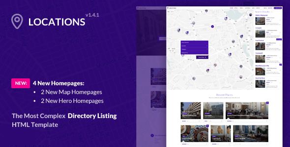 Locations - Multipurpose Directory Template