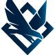 Eagle Flight Crest Logo