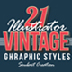 21 Vintage & Retro Graphic Styles