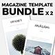 Magazine Template Bundle 01