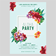 Aloha Party Flyer Template