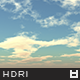 High Resolution Sky HDRi Map 047