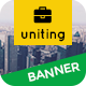 Uniting | Business HTML 5 Animated Google Banner