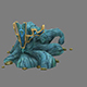 Games Models arena seabed area  Colossus head 01