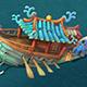 Submarine Cartoon World - Princess Shipwreck