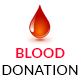 Blood Donation - Activism & Campaign HTML5 Template