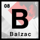 Balzac Minimal and Creative WordPress Theme (Creative)