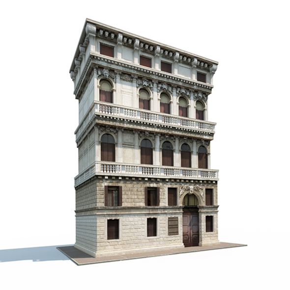 3DOcean Aparmtne House #162 19857174