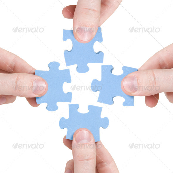 Teamwork And Partnership Concept - Stock Photo - Images
