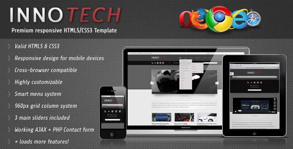InnoTech - Premium Responsive HTML5/CSS3 Template