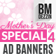 Mothers Day Sale Ad Banners