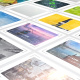 Mosaic Photo Album with Frames