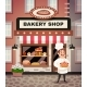 Bakery Shop Cartoon Illustration