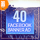 40 -  Travel Facebook Banners Ad