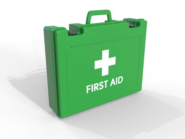 3DOcean First Aid Box 19858473