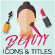 Beauty Motion Icons & Titles