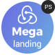 Megalanding -  Multipurpose Landing Page
