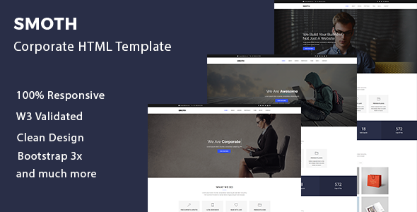 Smoth - Multipurpose Corporate Template