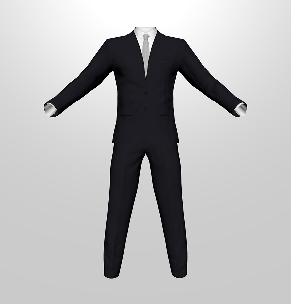 3DOcean Men Suit 19859437