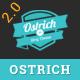 Ostrich - A Classic Minimal WordPress Blog Theme