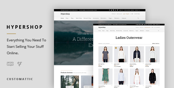 Download Hypershop - eCommerce WP Theme for WooCommerce