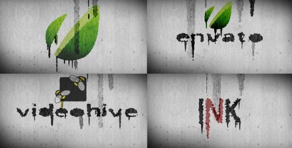 After Effects Project - VideoHive Ink v2.0 1944085