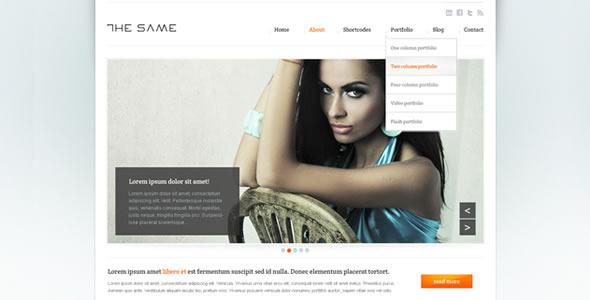 Business Site Template - HTML5  - Screenshot 1