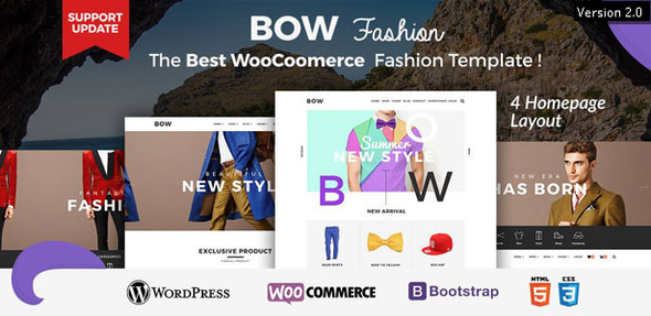 Bow - Responsive Wordpress Woocommerce Theme