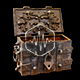 Open Wooden Treasure Chest