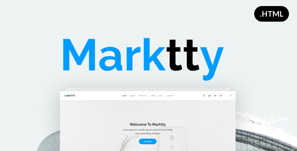 Marktty Creative Agency HTML Template (Creative) images