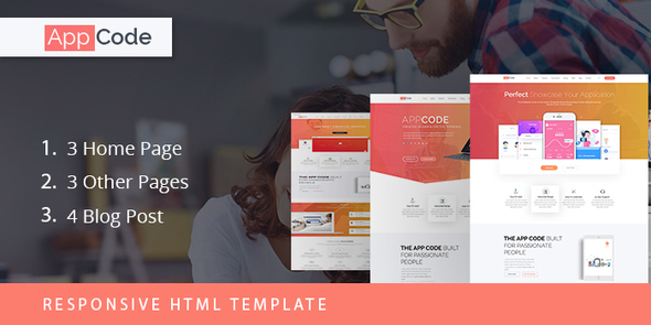 AppCode - Responsive Mobile App Website Template