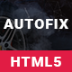 AutoFix – Car Repair & Car Wash Responsive HTML5 Template (Business)