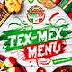 Mexican Menu Template vol.3