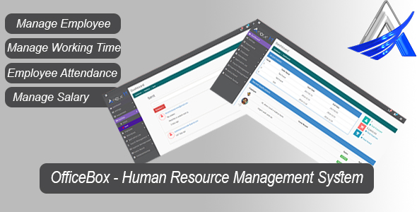OfficeBox – Human Resource Management System (PHP Scripts) images