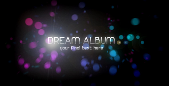 After Effects Project - VideoHive Dream Album 63291