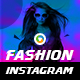 Fashion Instagram Templates - 4 Designs