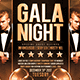 Gala Night Flyer