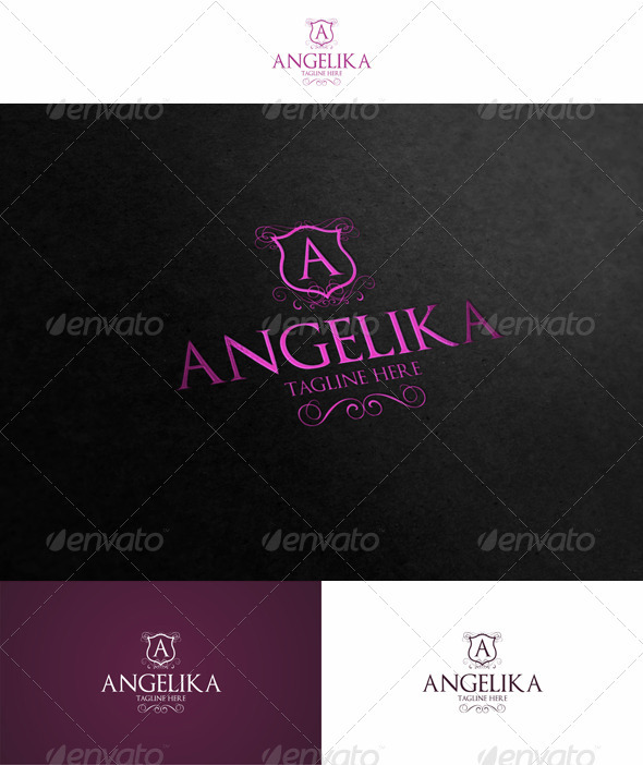 Angelika - Crests Logo Templates